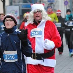 Perskindol kalėdinis bėgimas - Jim Condon (2146), Edvinas Bassus (2316)
