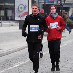 Perskindol kalėdinis bėgimas - Andrius Ivanauskas (2110), Ignas Vincerževskis (2336)