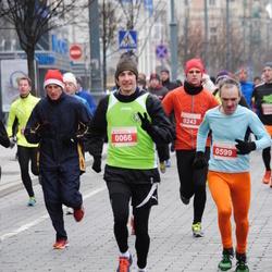 Perskindol kalėdinis bėgimas - Donatas Martišauskas (66), Viktoras Juršys (599)