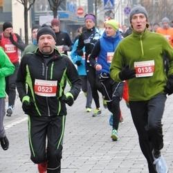 Perskindol kalėdinis bėgimas - Valdas Maksimavicius (135), Arvydas Šrubenas (523)
