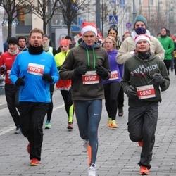 Perskindol kalėdinis bėgimas - Rokas Kvedaras (79), Mindaugas Griunas (566), Vytautas Vaitukaitis (567)