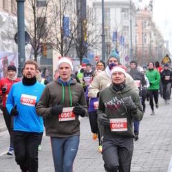 Perskindol kalėdinis bėgimas - Mindaugas Griunas (566), Vytautas Vaitukaitis (567)