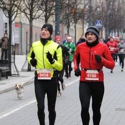 Perskindol kalėdinis bėgimas - Andrius Murauskas (196), Tautvydas Vaškys (414)