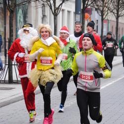 Perskindol kalėdinis bėgimas - Vilius Beniušis (125), Dainora Masiuliene (515)