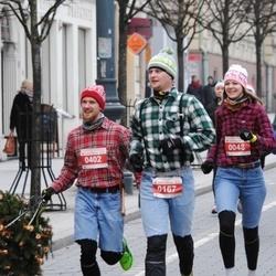 Perskindol kalėdinis bėgimas - Laimonas Rojus (167), Andrius Kirdeikis (402)