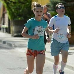 Trakų pusmaratonis 2015 - Monika Vilčinskaitė (1651), Andrius Matuliauskas (4729)