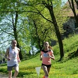 Trakų pusmaratonis 2015 - Dalius Dakinevičius (1591), Eglė Krištaponytė (4474)