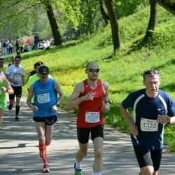 Trakų pusmaratonis 2015 - Dainius Miežys (1322), Dainius Petkevicius (4143), Martynas Kėvišas (4264)