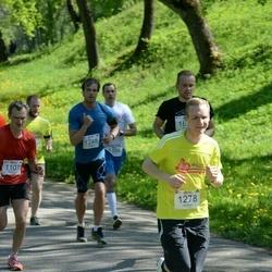 Trakų pusmaratonis 2015 - Kristijonas Minelga (1248), Andrius Žimkus (1278)