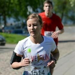 Trakų pusmaratonis 2015 - Diana Godliauskaitė (1514)
