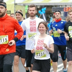 DNB - Nike We Run Vilnius - Evgenia Kiseleva (2331), Aleksas Pozemkauskas (4115)