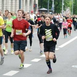 DNB - Nike We Run Vilnius - Augustas Juknevicius (2481), Birute Kavalskiene (3166), Evaldas Jokubauskas (3250)