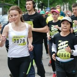 DNB - Nike We Run Vilnius - Kazuko Shiraishi (864), Laura Zapolskiene (3079)
