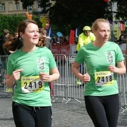 DNB - Nike We Run Vilnius - Sandra Vyskupaitiene (2418), Gitana Vaiciulyte (2419)