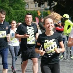 DNB - Nike We Run Vilnius - Jevgenija Kopceva (2165), Simas Adutavicius (2700), Dominykas Jonaitis (4299)