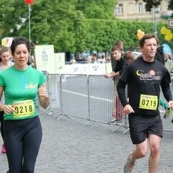 DNB - Nike We Run Vilnius - Lisa Berman (218), Jeffrey Sailor (219)