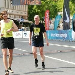 DNB - Nike We Run Vilnius - Rimantas Ramanauskas (71), Tautvydas Barštys (745)