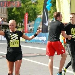 DNB - Nike We Run Vilnius - Viviana Kirilova (482), Tomas Aglinskas (563)