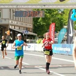 DNB - Nike We Run Vilnius - Svetlana Cerlina (609), Arvydas Jurgelevicius (810)