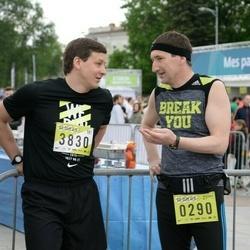 DNB - Nike We Run Vilnius - Arunas Žemrieta (290), Nerijus Bieliauskas (3830)