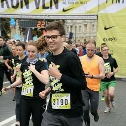 DNB - Nike We Run Vilnius - Marie Kleiber (3171), Louis Noel (3190)