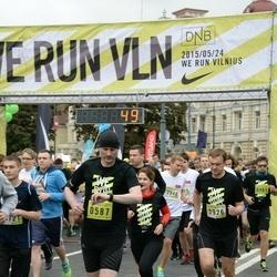 DNB - Nike We Run Vilnius - Augis Krupinas (587), Dainius Beliukevicius (3926)