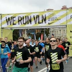 DNB - Nike We Run Vilnius - Justinas Leita (19), Saulius Gecevicius (2244)
