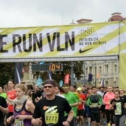 DNB - Nike We Run Vilnius - Raimondas Kudarauskas (222), Gintare Karalyte (4363)