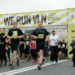 DNB - Nike We Run Vilnius - Algirdas Survila (232), Tadas Cijunaitis (643), Tomas Jakubauskas (2020)