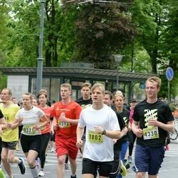DNB - Nike We Run Vilnius - Markus Tommy Juhani Karkkainen (802), Migle Antanaviciute (3321), Dovydas Švetkauskas (4312)