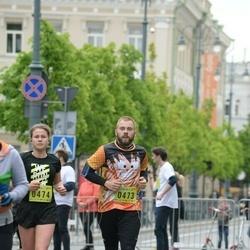 DNB - Nike We Run Vilnius - Justas Dovydenas (473), Ieva Lekstutyte (474)