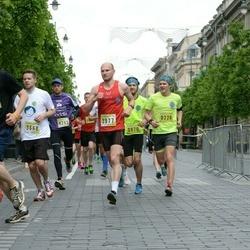 DNB - Nike We Run Vilnius - Mantautas Bieliauskas (226), Mangirdas Darguþis (3668), Martynas Kevišas (3977), Darius Alan Šantrukov (4288)