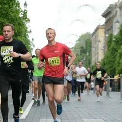DNB - Nike We Run Vilnius - Jevgenijus Tolstokorovas (522), Povilas Kriauza (2238)