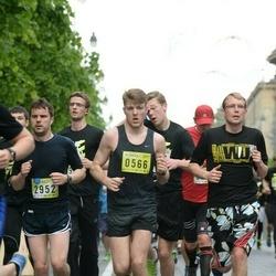 DNB - Nike We Run Vilnius - Vytautas Ivanauskas (566), Mindaugas Vareika (2952)