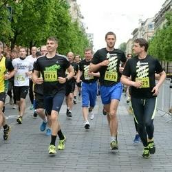 DNB - Nike We Run Vilnius - Vytautas Adomaitis (176), Astijus Mackevicius (517), Robertas Valuckas (914)