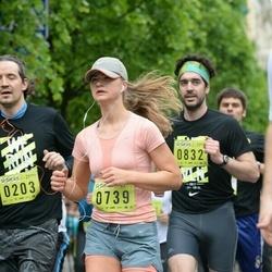 DNB - Nike We Run Vilnius - Agota Sakalauskaite (739), Albert Palau (832)