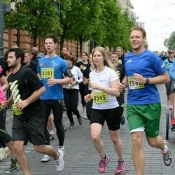 DNB - Nike We Run Vilnius - Konstantinas Vaskevicius (397), Danute Bakaityte (545)