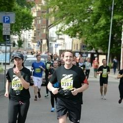 DNB - Nike We Run Vilnius - Gediminas Butvidas (3307), Deimante Reike (3309)