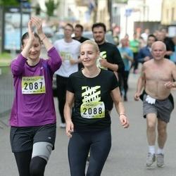 DNB - Nike We Run Vilnius - Asta Tiuriniene (2087), Kristina Steponaviciene (2088)