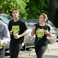 DNB - Nike We Run Vilnius - Capucine Jacquin-Ravot (752), Quentin Goettelmann (753)