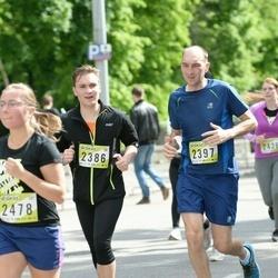 DNB - Nike We Run Vilnius - Timofey Chervyakov (2386), Jevgenijus Roþkovas (2397), Laura Paulina Šinkunaite (2478)