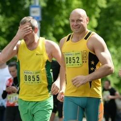 DNB - Nike We Run Vilnius - Sigitas Butkus (852), Balys Bardauskas (855)