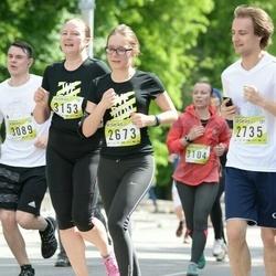 DNB - Nike We Run Vilnius - Birute Kazlauskiene (2673), Marius Kazlauskas (2735), Laura Kirvelyte (3153)