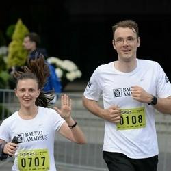 DNB - Nike We Run Vilnius - Nikolaj Anikejev (108), Indre Pinkeviciute (707)