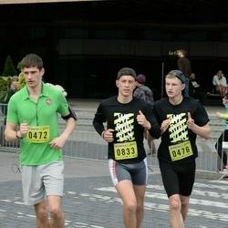 DNB - Nike We Run Vilnius - Kasparas Falkas (472), Daumantas Vygelis (476), Mindaugas Žiaugra (833)