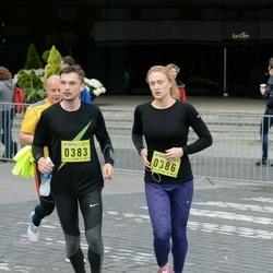 DNB - Nike We Run Vilnius - Alexey Grischenkov (383), Anastasiya Verbovskaya (386)
