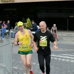 DNB - Nike We Run Vilnius - Povilas Ramoška (49), Olegas Kairys (165)