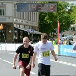 DNB - Nike We Run Vilnius - Ernestas Pliuška (275), Dainius Narmontas (549)