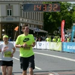 DNB - Nike We Run Vilnius - Ingrida Stankute (588), Domantas Stankus (589)