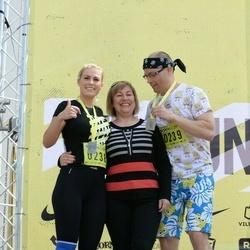 DNB - Nike We Run Vilnius - Ruta Beišyte (238), Kestutis Beisys (239)